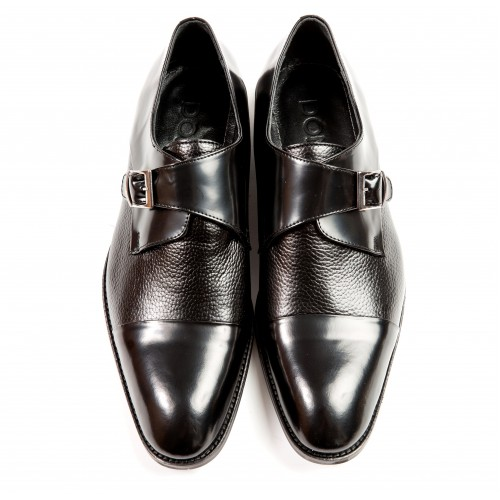 Pantofi negri DON Hector