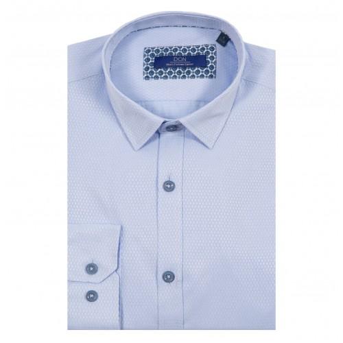 Camasa bleu DON Exquisite Style