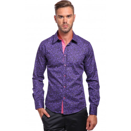 Camasa mov DON Purple Touch