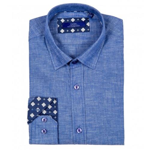 Camasa de in albastru inchis DON Ravello