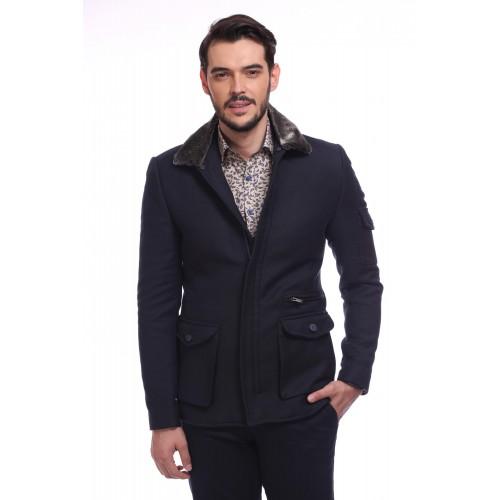 Palton bleumarin DON De Niro