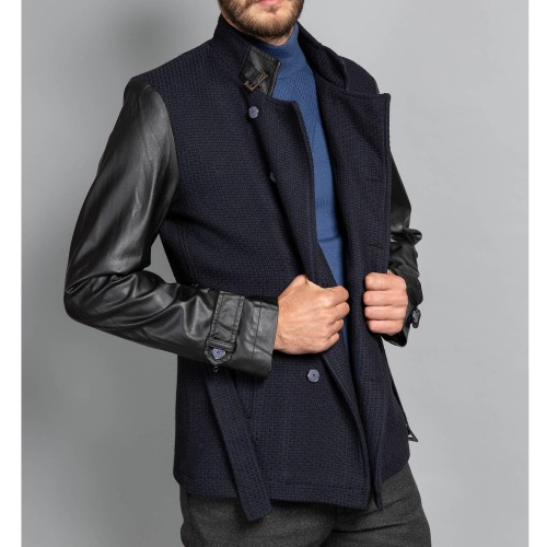 Palton bleumarin DON Giustino