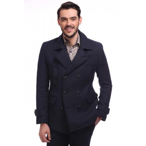Palton bleumarin DON Lewis