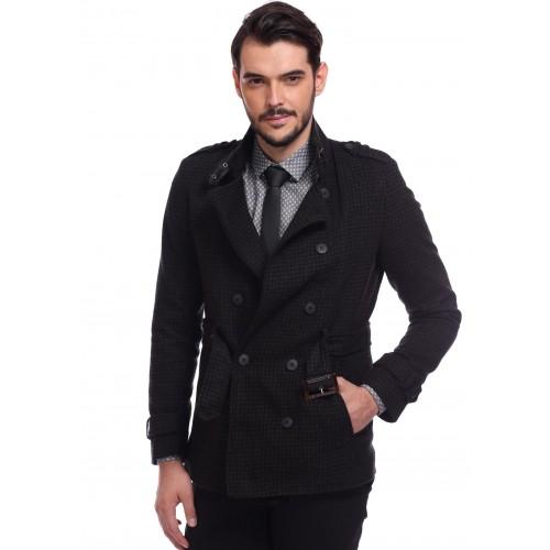 Palton negru DON Montecristo