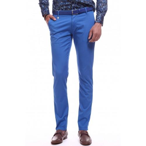 Pantaloni albastri DON Summer Chinos