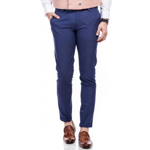 Pantaloni albastru inchis DON Emir