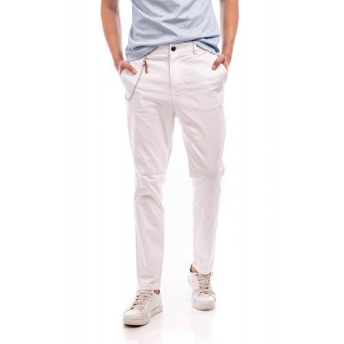 Pantaloni albi DON Charles