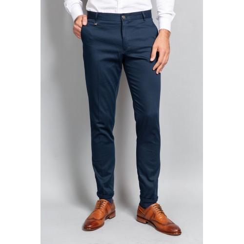 Pantaloni bleumarin DON Joseph