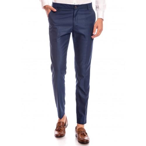 Pantaloni bleumarin DON Salvo