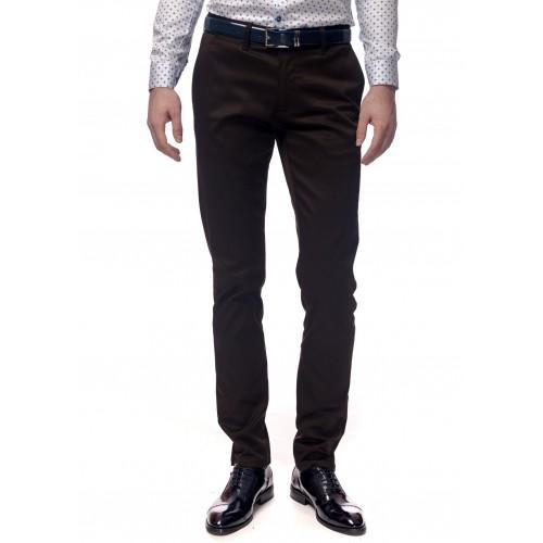 Pantaloni maro DON Cavalier