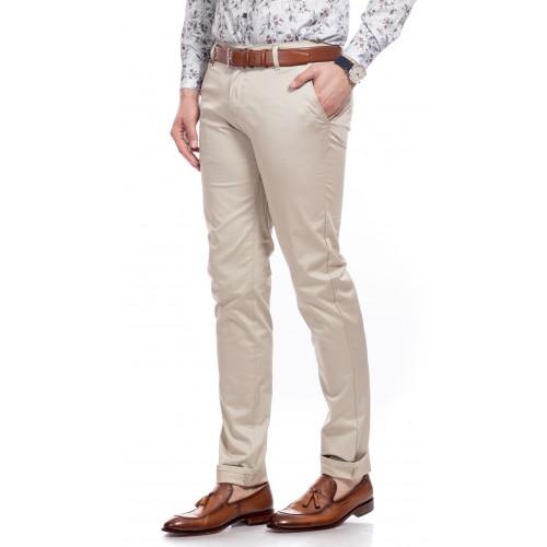 Pantaloni bej DON Modern Line