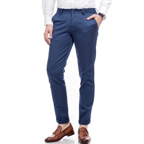 Pantaloni bleumarin deschis DON Benjamin