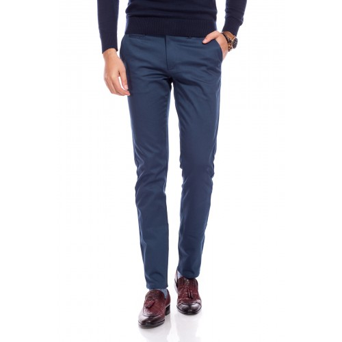 Pantaloni bleumarin deschis DON Vicente