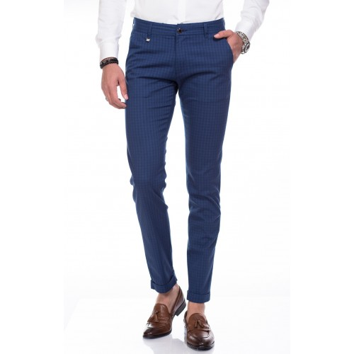 Pantaloni bleumarin DON Casual Day