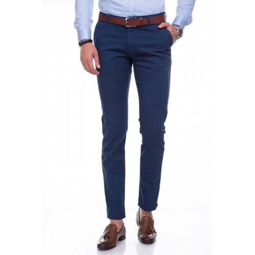 Pantaloni bleumarin DON Casual Look
