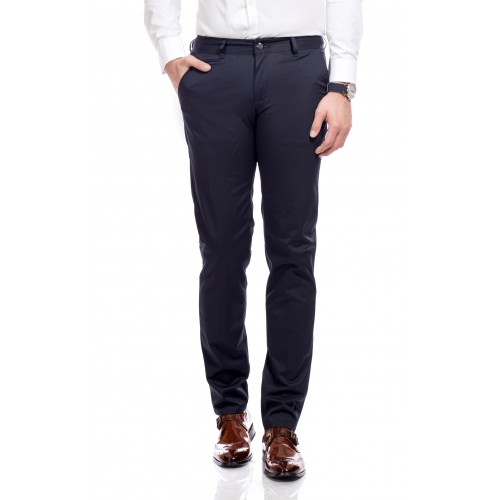 Pantaloni bleumarin DON City Wear