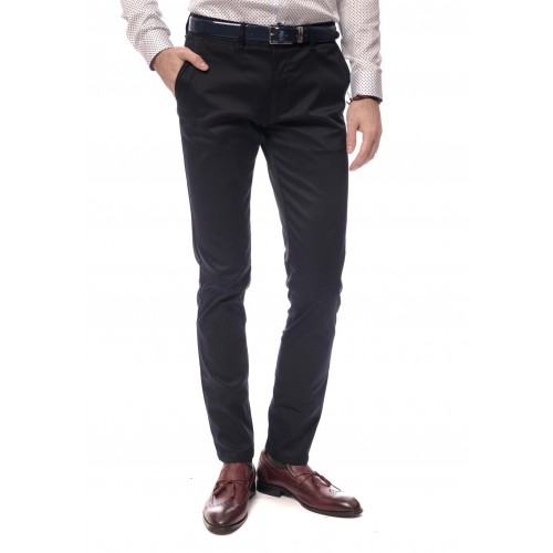 Pantaloni bleumarin DON Gent Wear