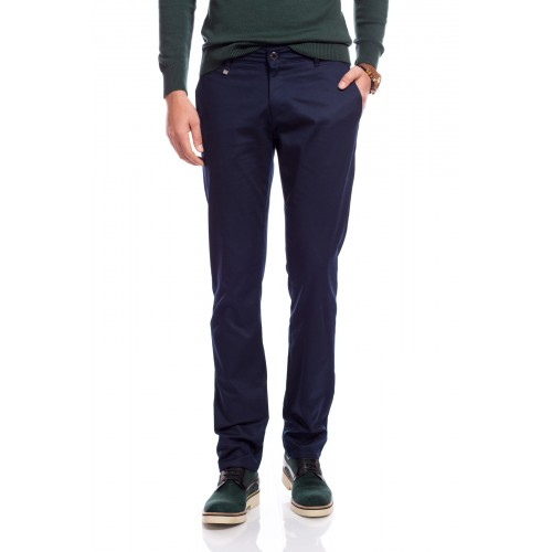 Pantaloni bleumarin DON James