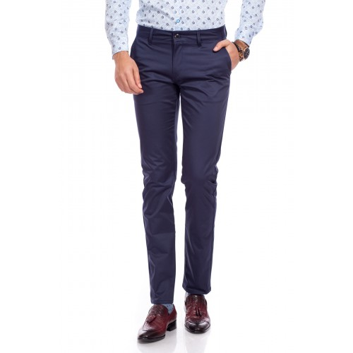 Pantaloni bleumarin DON Lucas
