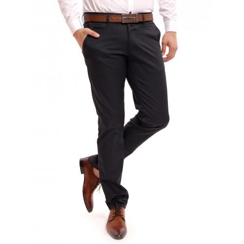 Pantaloni bleumarin DON Pocket Liner