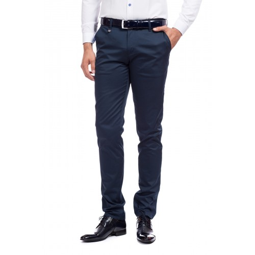 Pantaloni bleumarin DON Smart Choice