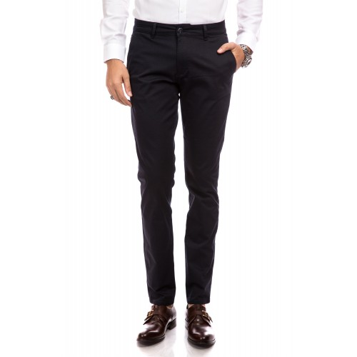 Pantaloni bleumarin inchis cu imprimeu DON Eagle