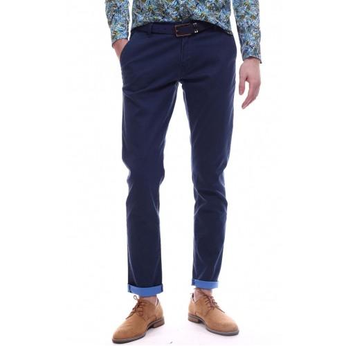 Pantaloni bleumarin DON Street Wear