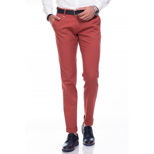 Pantaloni grena DON Casual Day