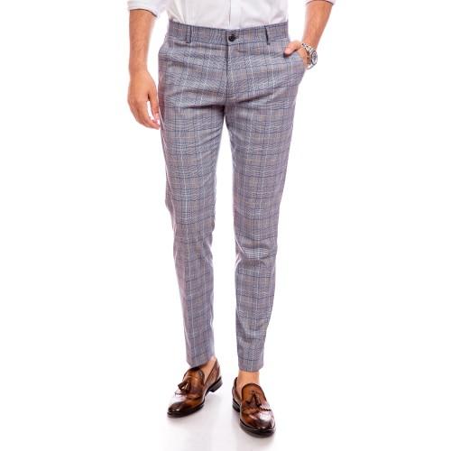 Pantaloni in carouri DON Lapaccio
