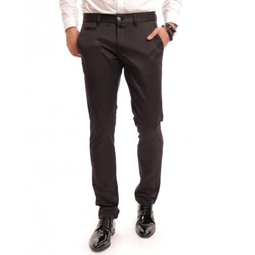 Pantaloni negri DON Pocket Liner