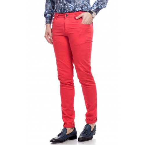 Pantaloni rosii DON Jones