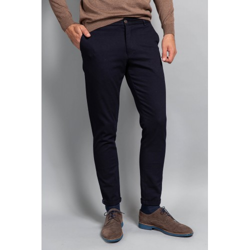 Pantaloni bleumarin DON Flavio