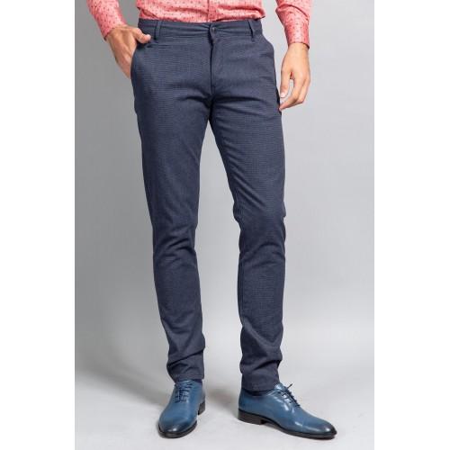 Pantaloni bleumarin DON Mose