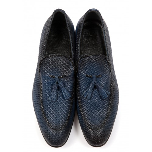 Pantofi albastri DON Fabio