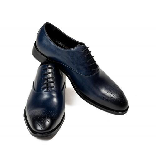 Pantofi bleumarin de piele DON Javier