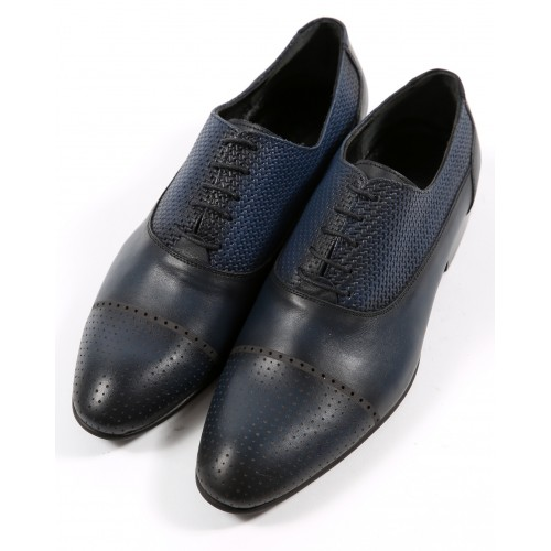 Pantofi de piele bleumarin DON Carlos