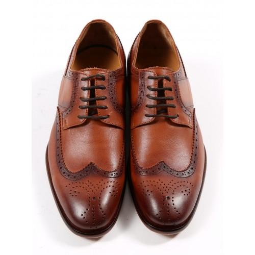 Pantofi de piele maro DON Giulio