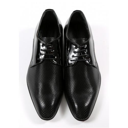 Pantofi negri DON Oxford