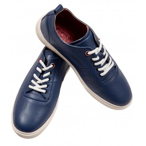 Pantofi sport bleumarin piele naturala DON Parker
