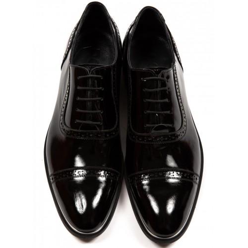 Pantofi de lac negri DON Dante