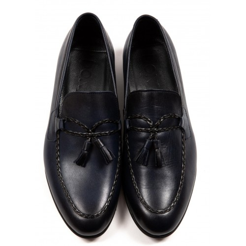 Pantofi bleumarin DON Franco