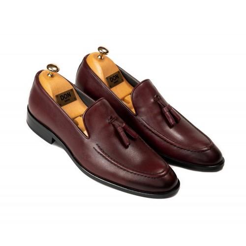 Pantofi grena DON Nicholas