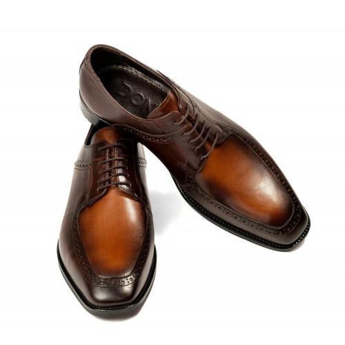 Pantofi maro de piele DON Hopper
