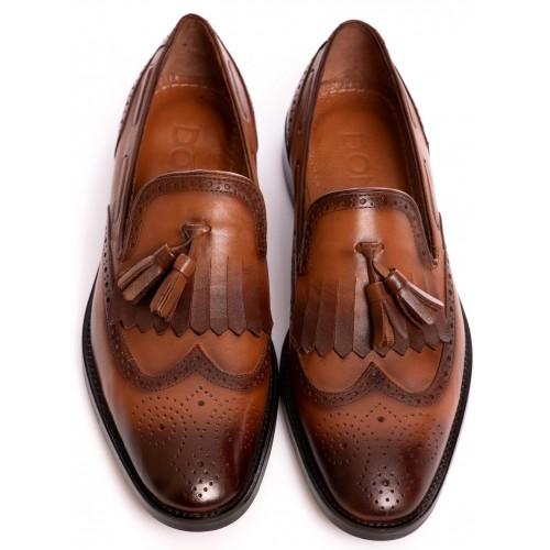 Pantofi maro DON Mauro