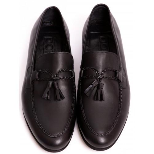 Pantofi negri DON Franco