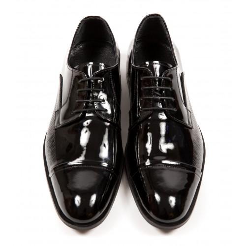 Pantofi negri DON Exclusive Style