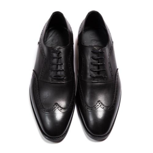 Pantofi negri DON Fabrizio