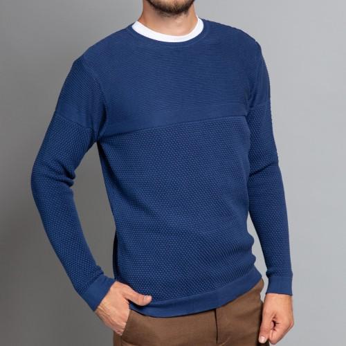 Pulover albastru DON Leone