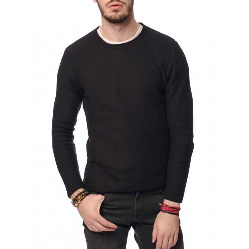 Pulover negru DON Urban wear