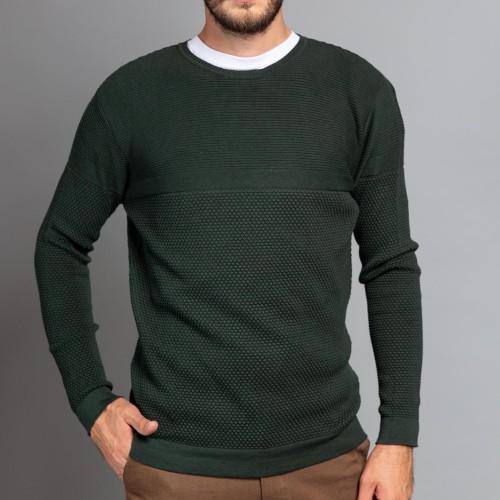 Pulover verde DON Leone